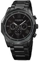 Akribos XXIV Men&s Swiss Quartz Multifunction Bracelet Watch