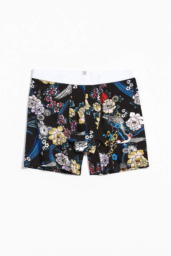 Urban Outfitters Fallen Blossoms Boxer Brief