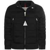 Moncler MonclerBlack Down Padded Amiot Coat