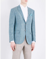 Corneliani Acamedy-fit Silk-blend Jacket