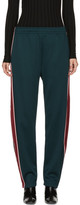 Acne Studios Green Norwich Face Lounge Pants