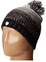 Betsey Johnson Crystal Light Knit Beanie Beanies