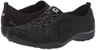 Skechers Breathe-Easy - Pleasantly (Navy) Women's Shoes
