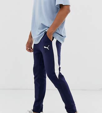 Puma evostripe core pants-Blue