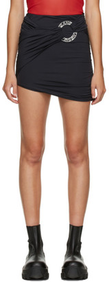 Misbhv Black Hagen Ring Miniskirt