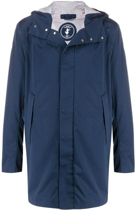 Save The Duck Long Hooded Jacket