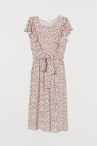 H&M MAMA Ruffled Dress - Pink