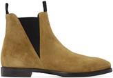 Acne Studios Beige Zack Chelsea Boots