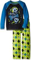 "Komar Kids Big Boys' ""Bad to the Bone"" 2-Piece Pajamas"