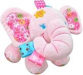 Naovio Elephant Musical Doll Developmental Toy Cotton Material, Pink