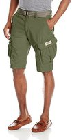 UNIONBAY Young Men's Lewis Belted Cargo Short