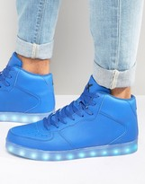 Wize & Ope LED Hi Top Sneakers