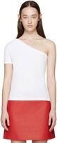 Jacquemus White Single Sleeve T-Shirt