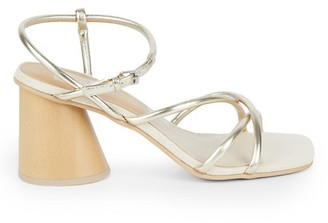 Dolce Vita Heidi Leather Heel Sandals
