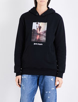 Palm Angels Burning cotton-jersey hoody
