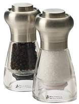 Maxwell & Williams Dynasty 11cm Stainless Steel Salt & Pepper Mill Gift Boxed