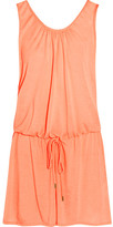 Heidi Klein Bermuda Voile Mini Dress - Peach