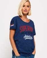 Superdry NY Athletics Slim Boyfriend T-Shirt