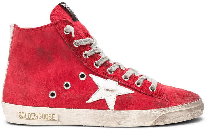 Golden Goose Suede Francy Sneakers