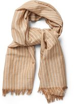 Gant Striped Linen Scarf
