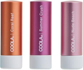 Coola Suncare Mineral Liplux SPF 30 Tinted Lip Trio