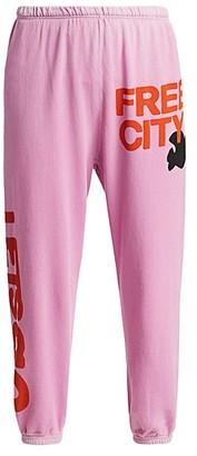 Freecity Let's Go Logo Standard-Fit Sweatpants