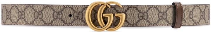 Thumbnail for your product : Gucci GG Marmont reversible belt