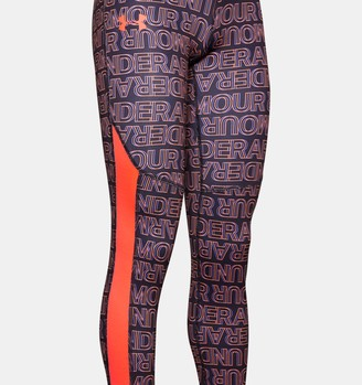Under Armour Girls' ColdGear Printed Leggings