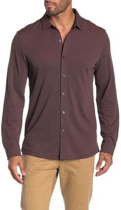 Robert Barakett Filmore Knit Long Sleeve Shirt