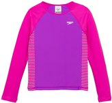 Speedo Girls' Raglan UPF 50+ Long Sleeve Rashguard (7yrs16yrs) - 8126393