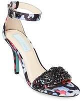 Betsey Johnson Gina Embellished Stiletto Sandal