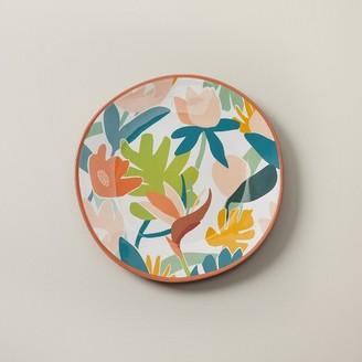 Indigo Tropical Melamine Dinner Plate