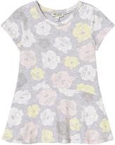 Kenzo Grey Marl Tiger Print Jersey Dress