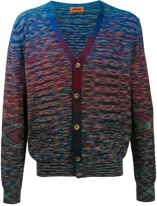 Missoni Striped-Pattern Knit Cardigan
