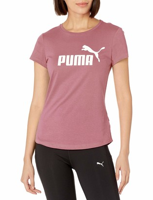 Puma Women's Essentials Logo TEE