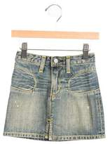 Paper Denim & Cloth Girls' A-Line Denim Skirt w/ Tags