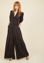The Embolden Age Jumpsuit in Noir in XS