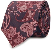 Peckham Rye Red Paisley Silk Tie
