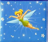 Tinkerbell Sandylion 8-Inch by 8-Inch Disney Princess Embossed Postbound Album,