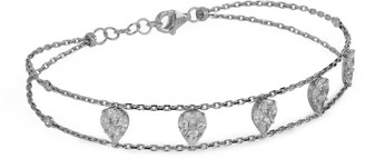 Djula White Gold And Diamond Precieuse Bracelet