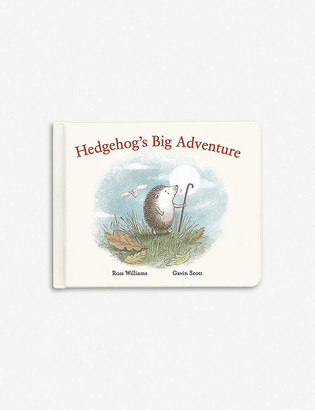 Jellycat Hedgehogs Big Adventure story book 24cm