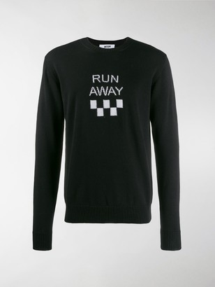 MSGM Run Away Jumper