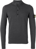 Stone Island henley sweatshirt - men - Cotton - M