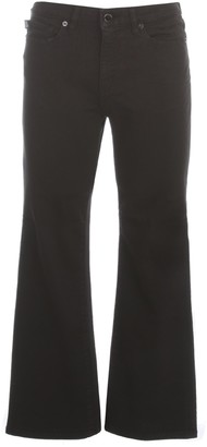 Love Moschino Cropped Flared Jeans