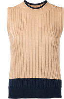 Loveless - ribbed sweater vest - women - Cotton/Rayon - 34