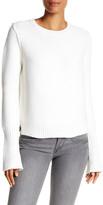 Brochu Walker Moss Wool Blend Knit Pullover