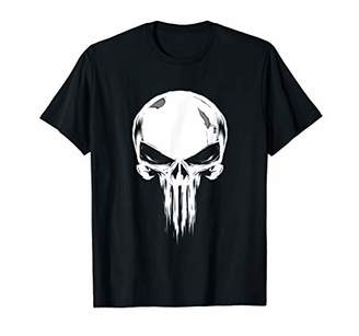 Marvel The Punisher Broken Skull Symbol T-Shirt