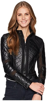 Blanc Noir Moto Jacket (Black 1) Women's Jacket