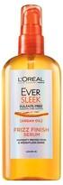 L'Oreal Hair Expert/Paris Ever Sleek Argan Oil Leave In Frizz Finish Serum - 3 oz