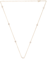 ERTH 14K Gold Diamond Choker